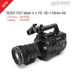 ✔에스엘알렌트에 FS7 Mark II가 국내 최초 입고되었습니다! SUPER35의 또다른 진화!  SONY FS7 Mark ll를 에스엘알렌트에서 지금 바로 만나보세요:) ▶ SONY FS7 Mark II + FE 18-110mm Kit 24 Hours 150,000원 / Halfday 100,000원  #SONY #FS7 #FS7M2 #FS7II #FS7MARKII #SUPER35 #소니 #CameraGear #SonyPro #SonyCamcorder #Camera #Videocamera #Filmmaker #Filmmaking #카메라대여_문화를_선도하는_기업 #에스엘알렌트 #SLR렌트 #SLRRENT.com