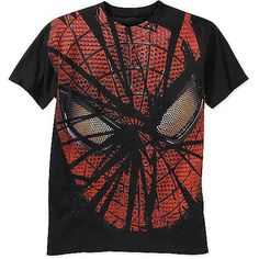 Men's Spiderman Shattered Graphic Tee