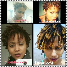 1 year loc journey, locs, babylocs, dreadlocks, short locs, black women, natural hair