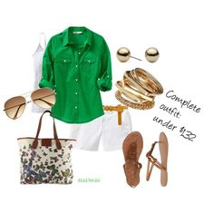 Relaxed, created by dixi3chik on Polyvore, hate the bag, love the rest...total is under $132