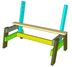 Pallet Table Plans How To Build A Comfortable Bench And Side Table – Jays Custom Creations Wood Bench Plans, 2x4 Bench, Diy Wood Bench, Table Plans, Wooden Benches, Pallet Furniture Designs, Pallet Patio Furniture, Outdoor Furniture Plans, Pallet Tables