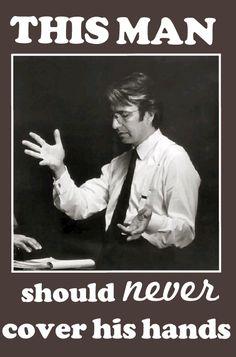 Alan Rickman and His Hands :)