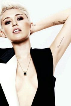 I don't love all her decisions, but Miley is pretty damn beautiful.