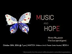 """Music and Hope"" Charity Recital"