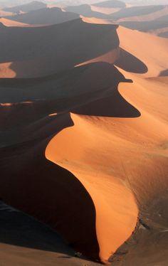Dunes, Sossusvlei, Namibia..