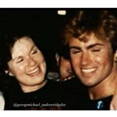 George Michael and his mother