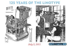 2011:  125 years of automated typesetting!