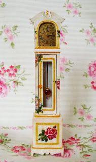 Mini Majsterkowanie: Akcesoria - Miniaturowy zegar stojący