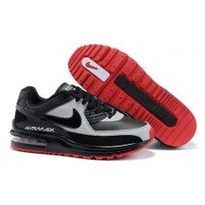 the latest fa5d4 36cd4 Hommes Nike Air Max LTD Noir Blanc Rouge 88,98 Red Air Max