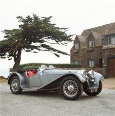 Jaguar SS100 3 1/2 Litre 1938. ★。☆。JpM ENTERTAINMENT ☆。★。