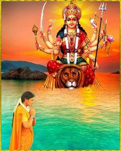 Ambe Maa, Lord Vishnu Wallpapers, Ganesha Art, Durga Maa, Princess Zelda, Yoga, India, Pictures, Photography