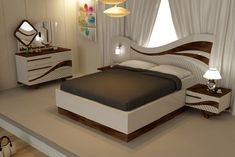 modern bedroom furniture sets and design catalogue. modern bed designs, modern bedroom furniture design, and wooden dressing table designs for bedroom. Latest Wooden Bed Designs, New Bed Designs, Table Designs, Bedroom False Ceiling Design, Bedroom Bed Design, Master Bedroom, Bedroom 2018, Bedroom Decor, Wooden Bedroom