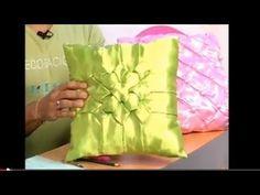 Flor de Tailandia (Cojines Drapeados) cierre - P45 - parte 3/3 - YouTube- Smocking
