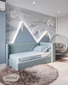 Luxury Kids Bedroom, Modern Kids Bedroom, Baby Bedroom, Bedroom Decor, Blue Furniture, Bedroom Furniture, Boy Decor, Blue Bedding, Kids Room Design