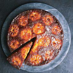 John Whaite's Clementine and cardamom upside-down cake