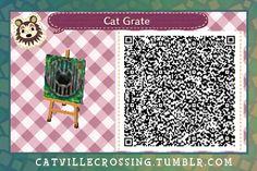 ACNL/ACHHD QR CODE-Cat Water Grate