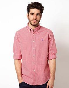 Polo Ralph Lauren Custom Fit Shirt in Gingham Check