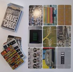 Eames Computer House of Cards - AnotherDesignBlog.