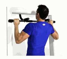 Doing pull ups build muscular endurance and help keep your upper body in shape.