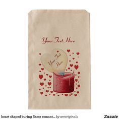 Browse Zazzle for a variety of wedding favor bags. Start shopping our great selection & find a design for your favor bags today! Wedding Favor Bags, Text You, Wedding Designs, Heart Shapes, Party Themes, Romantic, Paper, Prints, Red