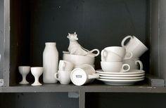 Still life with white #dinnerware by www.aestheticmovement.com partner: www.fishseddy.com