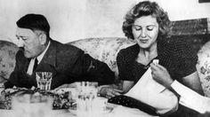 Hitler und Eva Braun