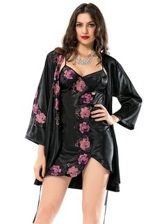 Pyjama Satin, Satin Nightie, Satin Sleepwear, Girls Night Dress, Night Gown, Pretty Lingerie, Beautiful Lingerie, Party Dresses For Women, Casual Dresses For Women
