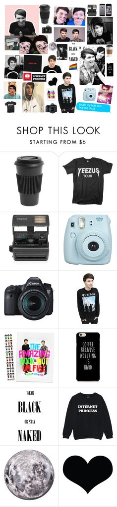 """""""° Daniel James Howell °"""" by golden-gays ❤ liked on Polyvore featuring beauty, Homage, A.N.D., Impossible, Fujifilm, Eos and Seletti"""