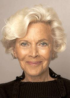 Honor Blackman, a Sean Connery Bond Girl who starred in the movie, Goldfinger.