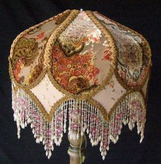 We make custom lampshades any size, any shape, any fabric or trim.   Boutique Home Chicago