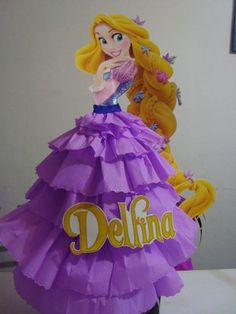 Piñatas Torre De Rapunzel Disney Rapunzel, Princess Rapunzel, Disney Princess Party, Princess Theme, Princess Birthday, Girl Birthday, Rapunzel Birthday Party, Tangled Party, Princesa Sophia