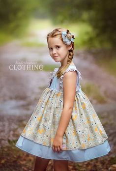 Fall Girls Fox and Friends Dress