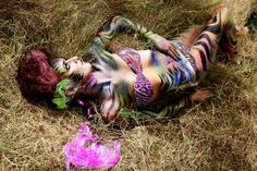 Feline Creature (ibiza 2011 bodyart photoshoot)