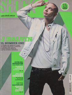 Revista Shock Magazine www.shock.com.co (J Balvin)