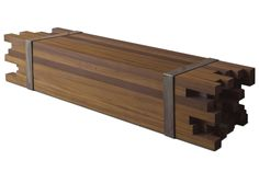 reclaimed wood modern bench - Google Search
