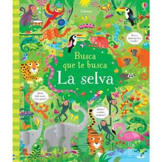 "Look and find jungle"" at usborne children's books Images Jungle, Jungle Pictures, Kids Activity Books, Book Activities, Puzzle Photo, Jungle Scene, Picture Puzzles, Puzzle Books, Animal Books"