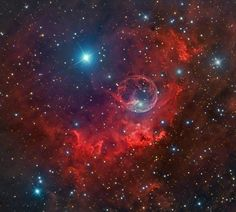 Bubble Nebula Dazzles In Stargazer's Stunning Photos
