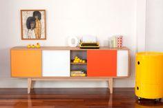 S180 Sideboard - Mid century modern Entertainmnet unit Vintage Industrial Art Cabinet. Storage buffet Danish Retro wood. Mid century teak. on Etsy, $2,138.48