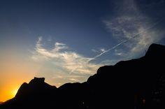 Sunset in Rocinha @twclick