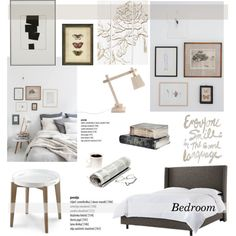 Bedroom by helenevlacho on Polyvore featuring interior, interiors, interior design, home, home decor, interior decorating, Cyan Design, Muuto, Palecek and Ethan Allen