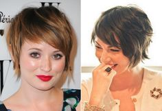 Cute, textured almost bob hairstyle when growing out a pixie cut