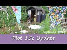 Katie's Allotment - September 2016 - Plot 15C Update