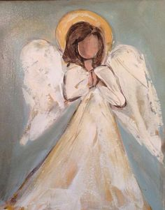 Support and Comfort Diy Painting, Painting & Drawing, Angel Drawing, I Believe In Angels, Angel Crafts, Angel Pictures, Christmas Paintings, Angel Art, Christian Art