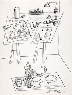 Saul Steinberg, 1967