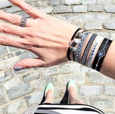 Stacks of Les Interchangeables , The Paris Bracelet , FREE SHIPPING on all  orders!