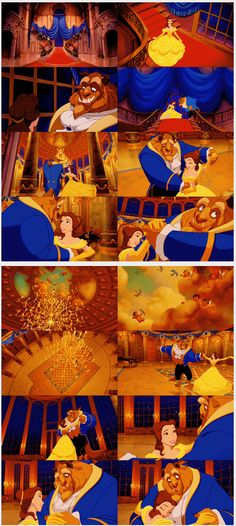 Beauty and the Beast. That face at the end, so much feels