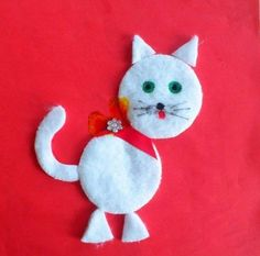 Cotton pads craft and art ideas Cute Crafts, Diy And Crafts, Arts And Crafts, Spring Activities, Activities For Kids, Black Cat Day, Barn Wood Crafts, Spring Art, Paper Crafts For Kids