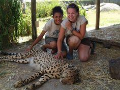 Cheetah Outreach, Spier