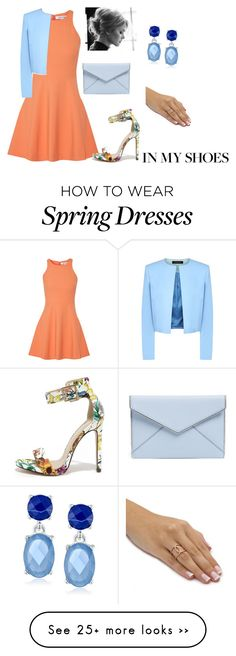 """In My Shoes"" by kenedy16 on Polyvore featuring Elizabeth and James, Jaeger, My Delicious, Rebecca Minkoff and Napier"