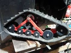 My homemade mattracks Metal Projects, Welding Projects, Fun Projects, Go Kart, Snow Vehicles, Homemade Tractor, Atv Accessories, D 40, Metal Shop